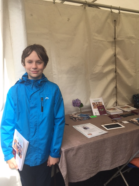 Dylan at Narberth Food Festival
