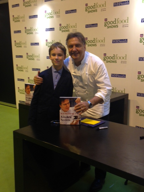 Dylan meeting Raymond Blanc